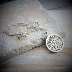 Sea Of Life Silver Charm And Necklace - dl_kclfc07