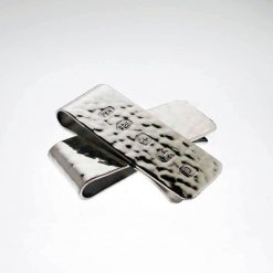 Hammered Effect Money Clip