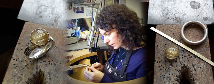 Becca Willimans - Handmade Jewellery Designer on Artfull Expression, Jewellery Quarter, Birmingham