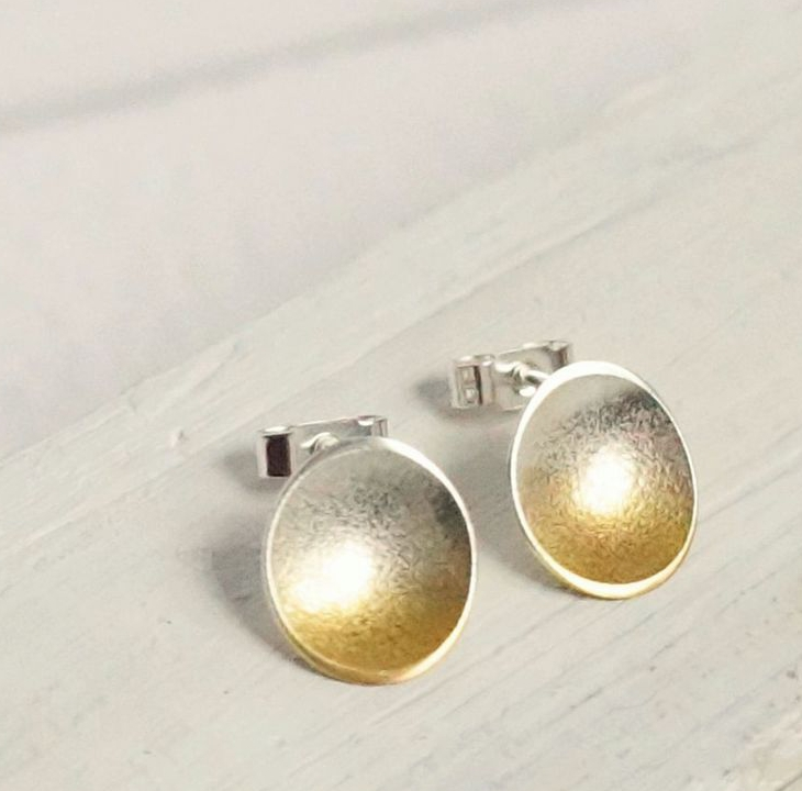 a3ac79aaa Electra Small Silver Stud Earrings - Artfull Expression