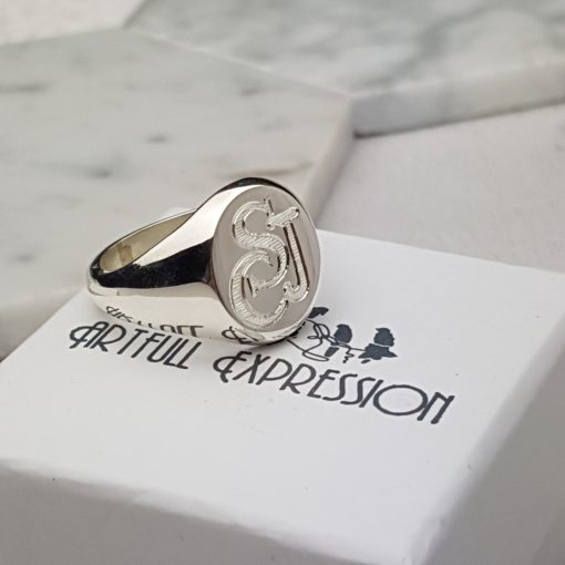 Sterling Silver Signet Ring by David-Louis of Artfull Expression