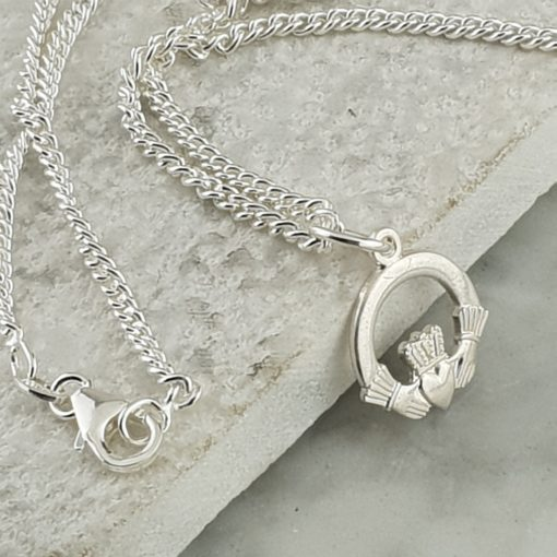 Claddagh Symbol of Love Necklace by David-Louis