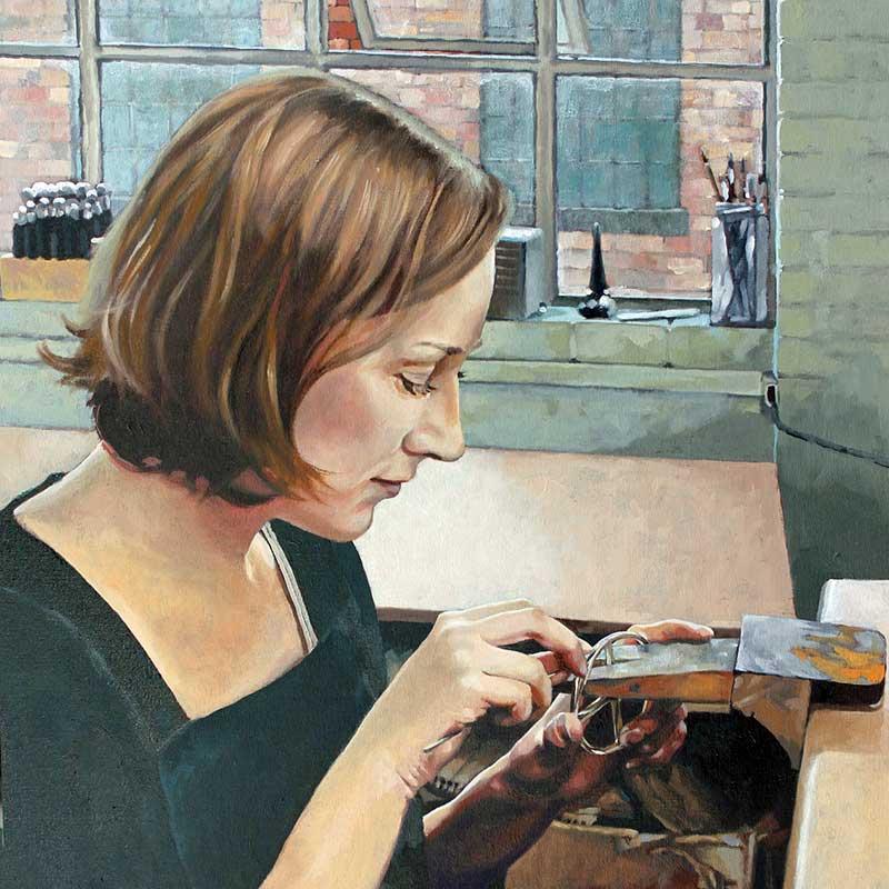 Alice Gow - Artfull Expression, Jewellery Shop, Jewellery Quarter, Birmingham, UK