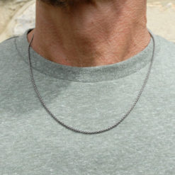 Mens Titanium Necklace