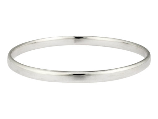 Hallmarked Sterling Silver Personalised Bangle